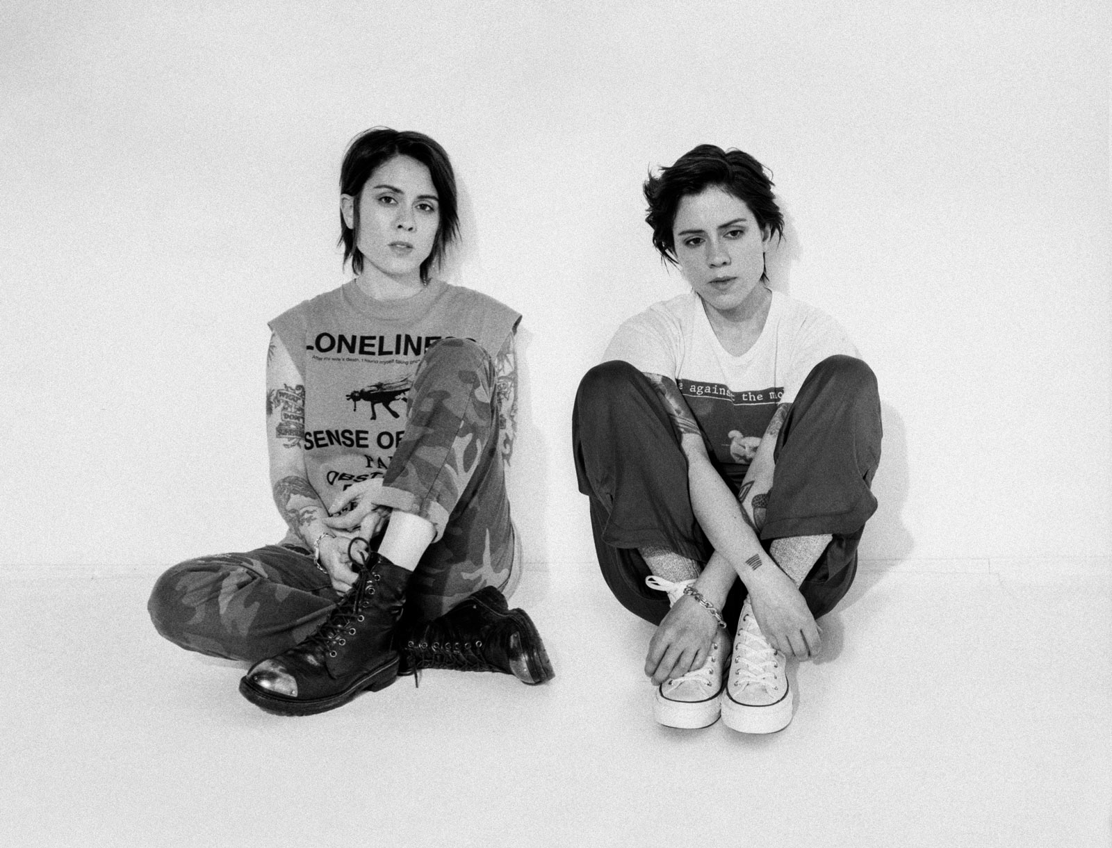 Tegan and Sara portrait
